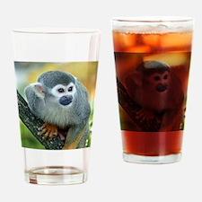 Monkey004 Drinking Glass