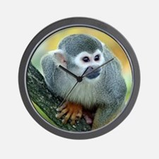Monkey004 Wall Clock