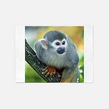 Monkey004 5'x7'Area Rug