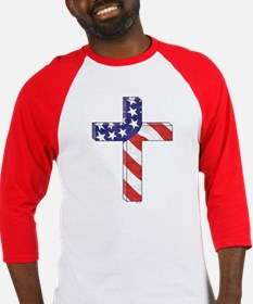 Freedom Cross Baseball Jersey