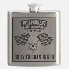 Born To Roam Racing Flask