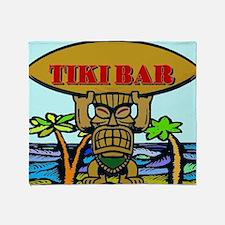 Unique Tiki Throw Blanket