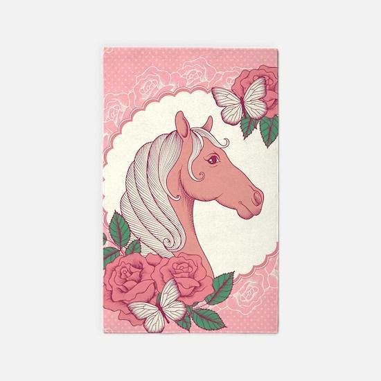 Cute Pony Area Rug