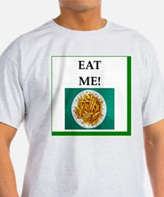Unique French fry lover T-Shirt