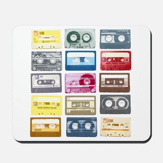 Mixtapes Color Cassette Mousepad