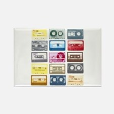 Mixtapes Color Cassette Rectangle Magnet