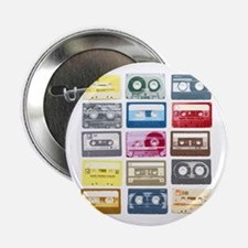 "Mixtapes Color Cassette 2.25"" Button"