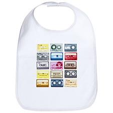 Mixtapes Color Cassette Bib