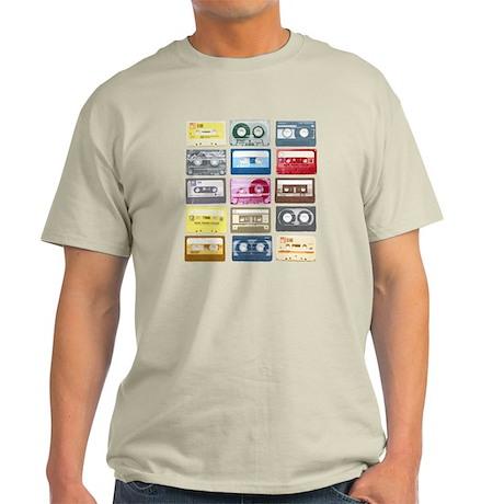 Mixtapes Color Cassette Light T-Shirt