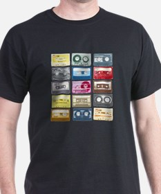 Mixtapes Color Cassette T-Shirt