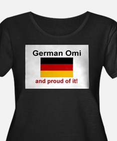 German-OmiProud Plus Size T-Shirt