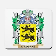 O'Rourke Coat of Arms - Family Crest Mousepad