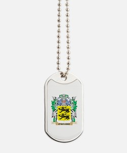 O'Rourke Coat of Arms - Family Crest Dog Tags