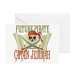 Captain Jedidiah Greeting Cards (Pk of 10)