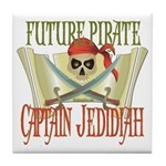 Captain Jedidiah Tile Coaster