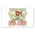 Captain Jedidiah Rectangle Sticker