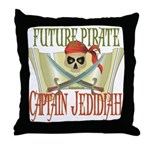 Captain Jedidiah Throw Pillow