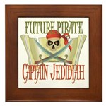Captain Jedidiah Framed Tile