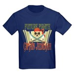 Captain Jedidiah Kids Dark T-Shirt