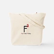 Fur Free Friday Tote Bag