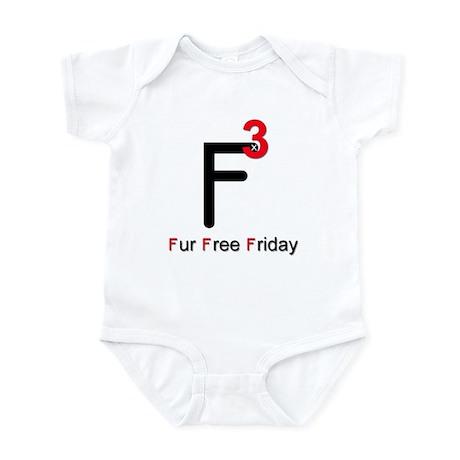 Fur Free Friday Infant Bodysuit