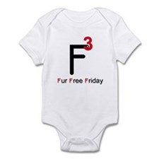 Fur Free Friday Infant Bodysuit