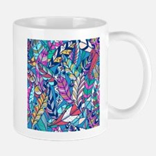 Colorful Feathers Mugs