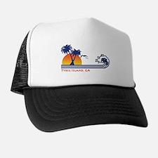 Tybee Island GA Trucker Hat