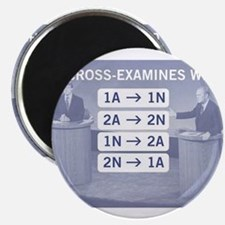 Who cross-examines whom? Magnets