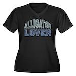 Alligator Lover Florida Fan Women's Plus Size V-Ne