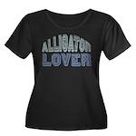 Alligator Lover Florida Fan Women's Plus Size Scoo