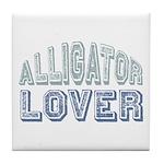 Alligator Lover Florida Fan Tile Coaster