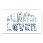 Alligator Lover Florida Fan Rectangle Sticker