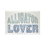 Alligator Lover Florida Fan Rectangle Magnet (10 p