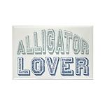 Alligator Lover Florida Fan Rectangle Magnet (100