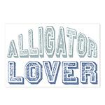Alligator Lover Florida Fan Postcards (Package of