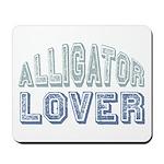 Alligator Lover Florida Fan Mousepad