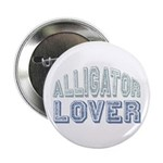 "Alligator Lover Florida Fan 2.25"" Button"