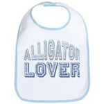 Alligator Lover Florida Fan Bib