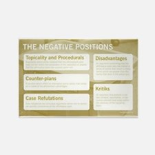 The Negative Positions Magnets