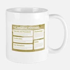 The Negative Positions Mugs