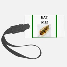 chili dog Luggage Tag