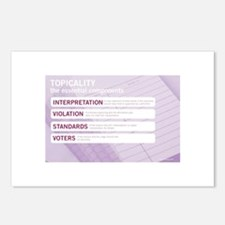 Topicality Postcards (Package of 8)