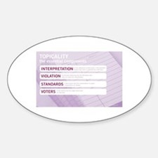 Topicality Decal