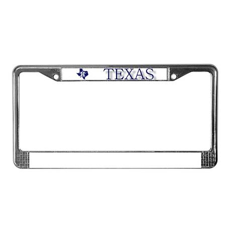 Houston Texas License Plate Frames - CafePress