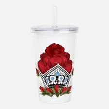 PageantryNOW Crown Acrylic Double-wall Tumbler