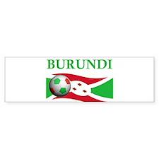 TEAM BURUNDI WORLD CUP Bumper Bumper Sticker