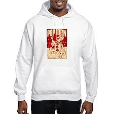 Retro Popcorn Circus Clown Hoodie