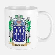 Padilla Coat of Arms - Family Crest Mugs
