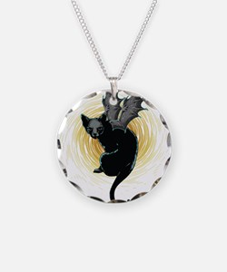 Bat Cat Necklace